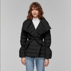 NEW Mackage Lindi Belted Down Jacket Small